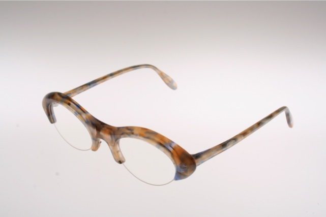 eyeglasses for fashion  beige cat eye