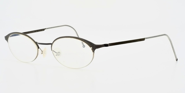 Glasses Frames Made In Denmark : LINDBERG strip titanium silver grey oval design eyeglasses ...