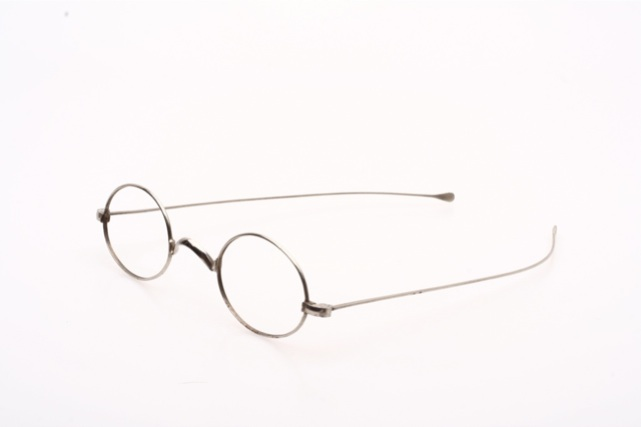 Smaller oval antique 20s SCHUBERT Eyeglasses - with ...